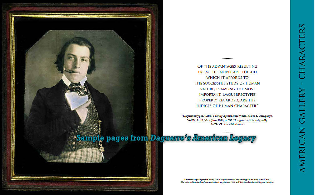 """Daguerre's American Legacy"" new book on American portrait photography - daguerreotypes to 1900"